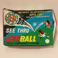 VTG Jet Ball High Bouncing Balls Dime Store Toy Lot in Display Box Taiwan