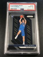 LUKA DONCIC 2018 PANINI PRIZM #280 CHROME ROOKIE RC PSA 10 GEM MINT MAVERICKS