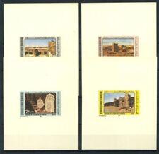 Mauritania 1983 Mi. 783-786 Foglietto 100% Foglietto di lusso ** Monumenti