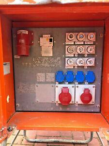 32 16 A Baustromverteiler Baustromkasten Anschlußschrank Zwischenverteilung