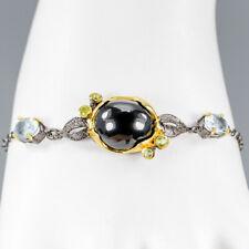 Vintage Natural Spinel 925 Sterling Silver Bracelet Inches 8/BR03263