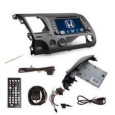 "7"" In Dash 2 DIN Car Stereo Radio DVD Player GPS Navigation For Honda Civic MP3"