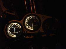 WHITE KAWASAKI ZX7R P series led dash clock conversion kit lightenUPgrade