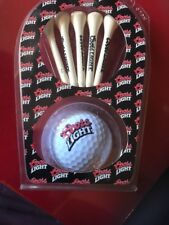 New Coors Light Beer Golf Ball New Top Flite Xl Regular Trajectory Sealed