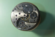 VINTAGE 38MM OMEGA OPEN FACE POCKET WATCH MOVEMENT GRADE 37.5T1 17P FROM 1946