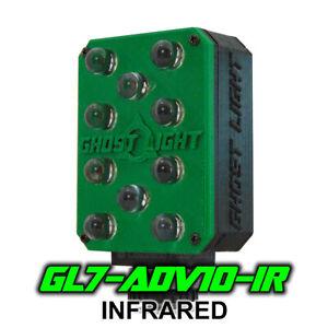 Ghost Light GL7-ADV IR Infrared LED Night Vision Camera Light Paranormal - Green
