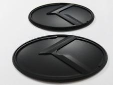 2pcs New 3D black K logo badge emblem fit KIA OPTIMA K5 2011-2016