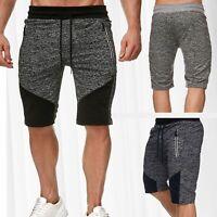 Pantaloni corti sudore uomo Formazione Sport Shorts elasticizzati misti Mottled