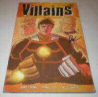 Villains Thick as Thieves Volume #1 Comic Viper SIGNED Ryan Cody TPB Vol 1st GN