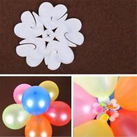 10 PCS Balloon Sheet Plum Flower Shape Clip Birthday Party Wedding Decoration
