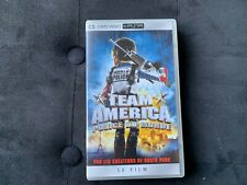 Team America UMD Video PSP Sony