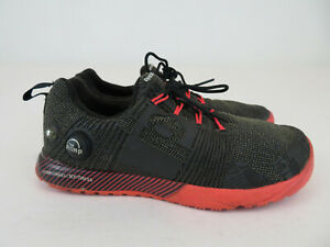 Reebok The Pump Z Fusion Running Athletic Shoes Black Red Womens Size 6.5 EU 37