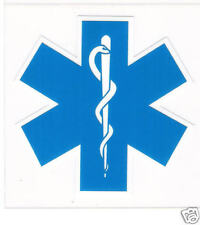 STICKER (DECAL) - EMS/EMT STAR OF LIFE