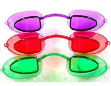 Tanning Bed Eyewear Goggles Australian Gold  Eye Candy Neon 1 Pair with Strings
