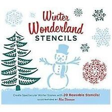 Winter Wonderland Stencils: Create Spectacular Winter Scenes with 20 Reusable St
