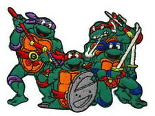 Teenage Mutant Ninja Turtle TMNT Cartoon Emo Embroidery Iron on Patches