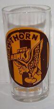 1957 Greig's Honey Glass Hawthorn Hawks Near MINT r