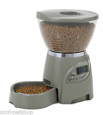 LE BISTRO AUTOMATIC PET FEEDER GREY PORTION RIGHT PROGRAMMABLE FEEDER 5LB/2.25kg