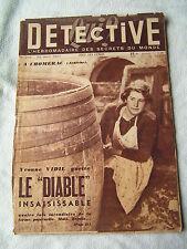Détective 1951 251 SAINT ANDRé DE CORCY ANGOULÊME CHOMERAC LA FRETE CLERAC