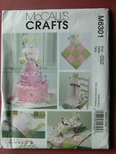 McCall's Pattern 6301Toy, Decoration, Burp Cloth, Blankie, Blanket, Hooded Towel