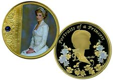 COLOSSAL DIANA  A PRINCESS COMMEMORATIVE COIN PROOF LUCKY MONEY VALUE $139.95