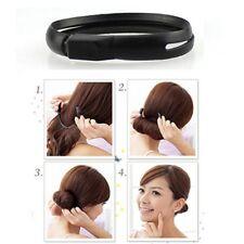 Haar Frisurenhilfe Knotenrolle Dutt Haarknoten Haarstyler Hair Bun Topsy Tail