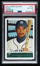 2001 Topps Gallery Ichiro Suzuki (Japanese) #151.2 PSA 6 Rookie