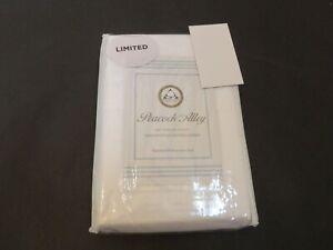 Peacock Alley 500TC Egyptian Cotton Sateen Standard Pillowcases White