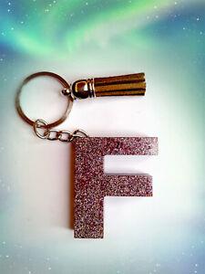F Alphabet  Keyring
