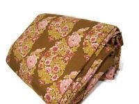 Pottery Barn Cotton Linen Floral Paisley Full Queen Duvet Cover 2 King Shams New