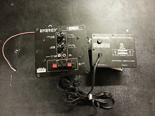 ENERGY XL-S10 Replacement Plate Amplifier Amp and power supply as pictured