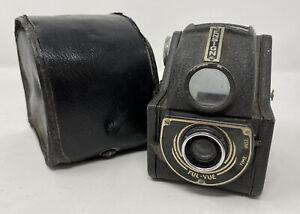 Vintage ENSIGN FUL-VUE 120mm Film Box Camera 1940s