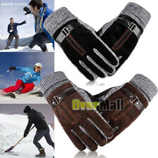 Winter Warm Gloves Mens Womens Touch Screen Windproof Thermal Driving Running