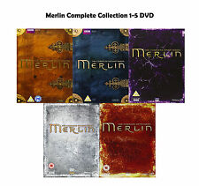 Merlin Complete Collection 1-5 DVD All Seasons 1 2 3 4 5 Original UK Release NEW