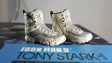 Hot Toys MMS209 Ironman 3 Mechanic Tony Stark 1:6 action figure's Shoes boots