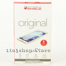 Zagg Samsung Galaxy Note 4 Invisible Shield Original Screen Protector Skin