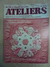 DE FIL EN AIGUILLE ATELIERS  n° 83 Comment lire les graphiques de tissage ?
