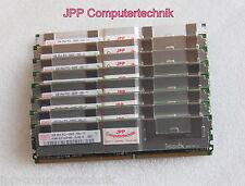 16GB 4x 4GB Speicher RAM Lenovo 43x5061 45J6193 46U1019 PC2-5300F DDR2 FB DIMM
