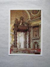 Carte Postale : BALDAQUIN MONUMENTAL par LE BERNIN - VATICAN