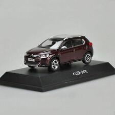 1:43 Dongfeng Citroen C3-XR CITROEN SUV Alloy Car Models