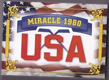 2012 leaf 1980 U.S sp #10/10 miracle HOCKEY booklet ice auto olympic signed 1/1