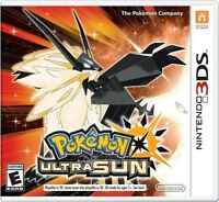 Pokemon Ultra Sun for Nintendo 3DS [New 3DS]