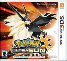 Pokémon Ultra Sun (Nintendo 3DS, 2017)
