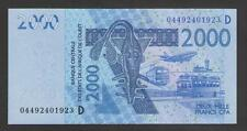 WEST AFRICAN  (MALI)  2000 FRANCS  2003/2004  P.416Db   Uncirculated