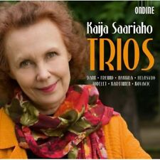 Kaija Saariaho - Trios [New CD]