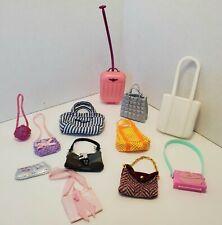 Barbie PURSES LOT #1 Accessories Clutch Crossbody Tote Saddle Bag Messenger
