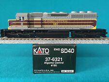 37-6321 Kato HO Scale SD40 Algoma Central NIB
