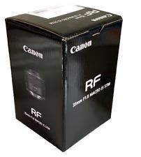 New CANON RF 35mm f1.8 IS Macro STM Lens for Full-frame Mirrorless DigitalCamera
