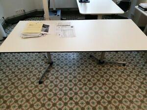 USM Kitos Schreibtisch 1,80×0,80 - neuwertig - Schreibtischplatte weiß
