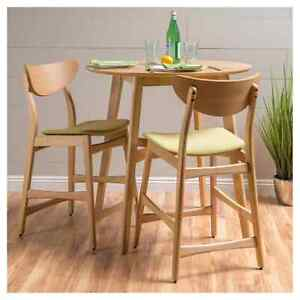 Christopher Knight Gavin Counter Height Barstool Chairs Green Tea Set of 2